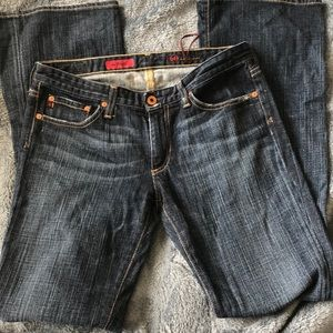 AG JEANS THE ANGEL DARKWASH BOOTCUT 29R